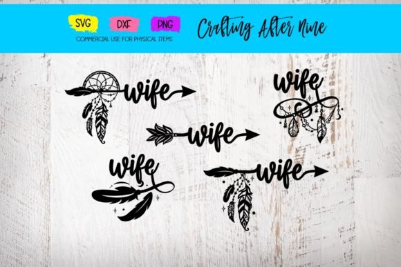 Wife Arrow Bundle Graphic By Crafting After Nine