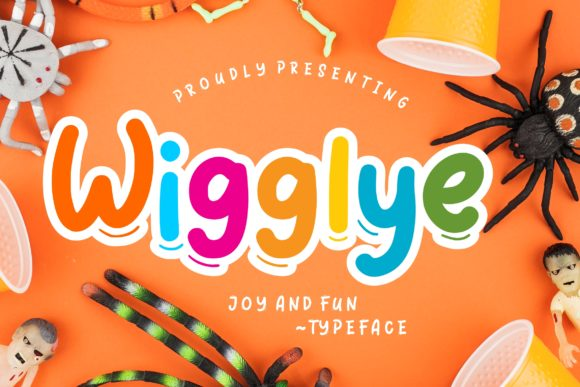Print on Demand: Wigglye Display Font By CreatypeStudio