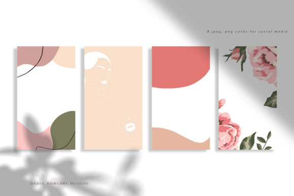 Wild Rose Illustration Graphic Illustrations By BilberryCreate - Image 3