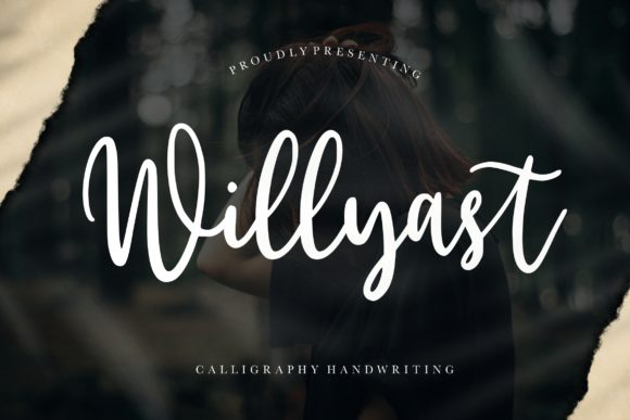 Print on Demand: Willyast Script & Handwritten Font By CreatypeStudio
