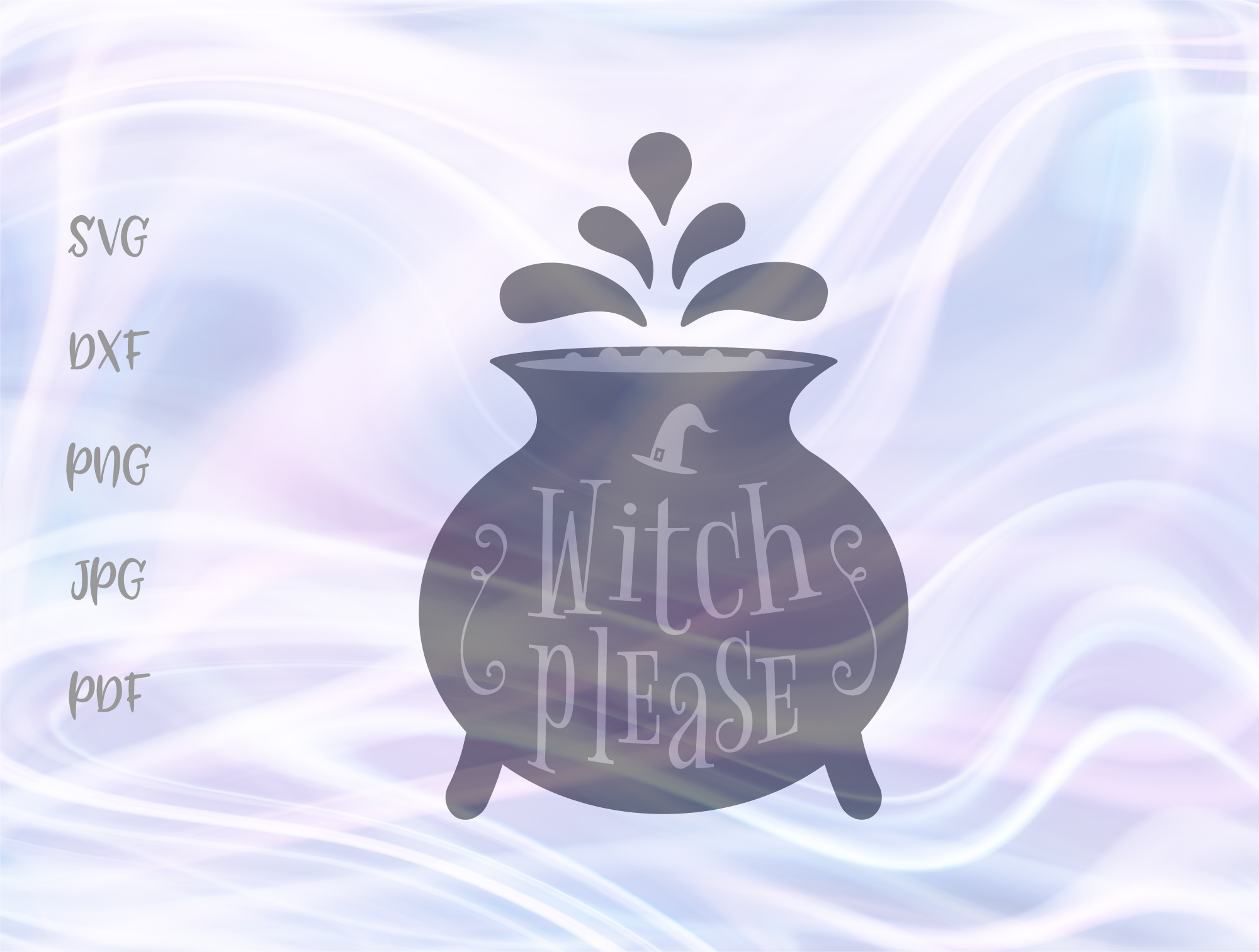 Download Free Witch Please Halloween Magic Potion Graphic By Digitals By Hanna for Cricut Explore, Silhouette and other cutting machines.