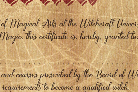 Witch/ Wizard Diploma Graphic Crafts By danieladoychinovashop - Image 3