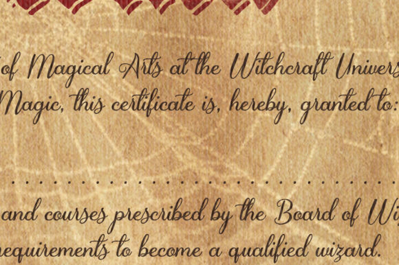 Witch/ Wizard Diploma Graphic Crafts By danieladoychinovashop - Image 4