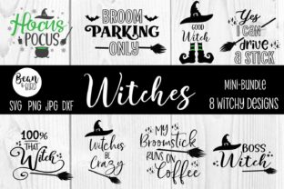 Download Free Witches Halloween Mini Bundle Graphic By Jessica Maike for Cricut Explore, Silhouette and other cutting machines.