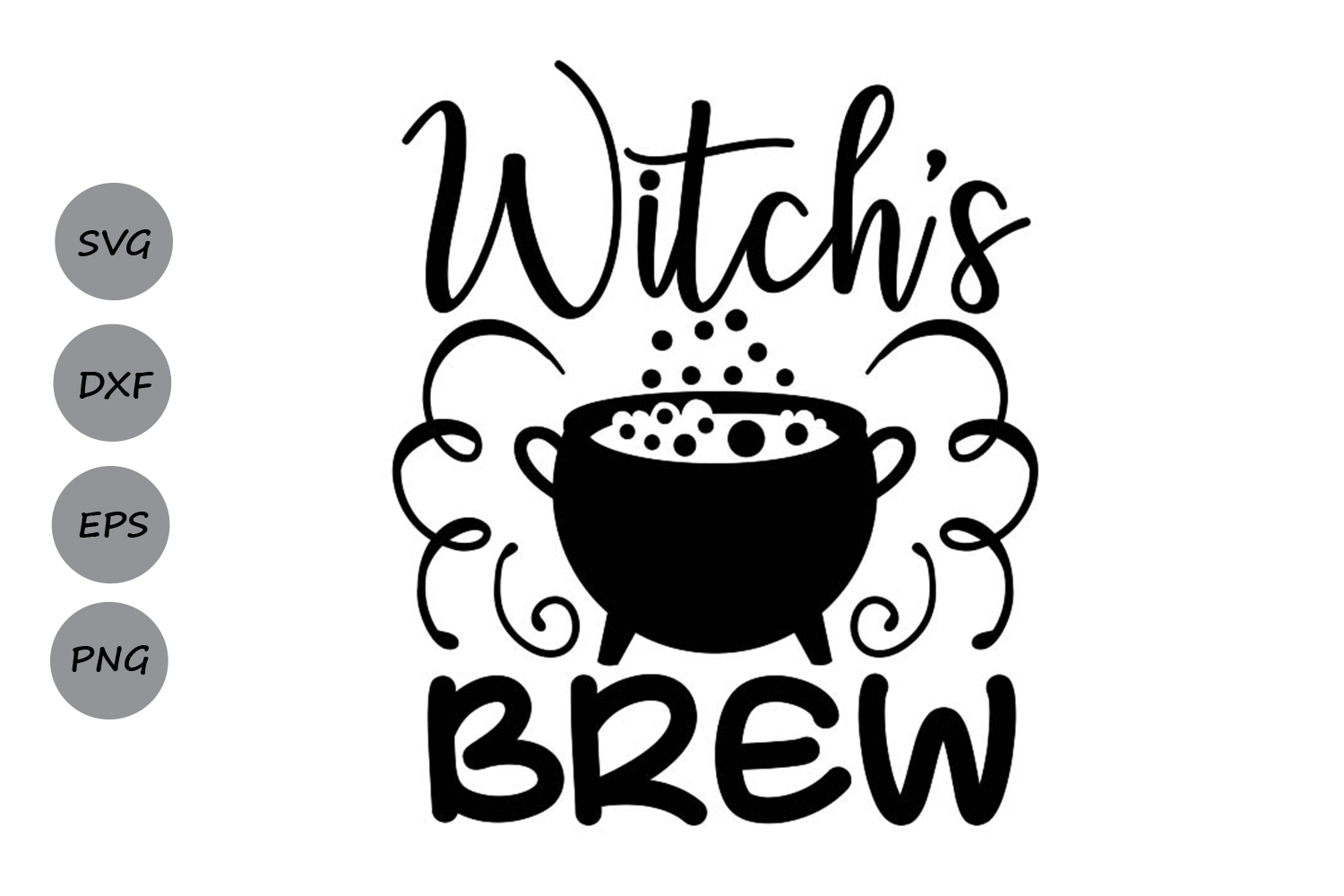 Witch S Brew Graphic By Cosmosfineart Creative Fabrica
