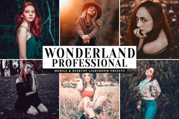 Download Free Wonderland Pro Lightroom Presets Grafico Por Creative Tacos for Cricut Explore, Silhouette and other cutting machines.