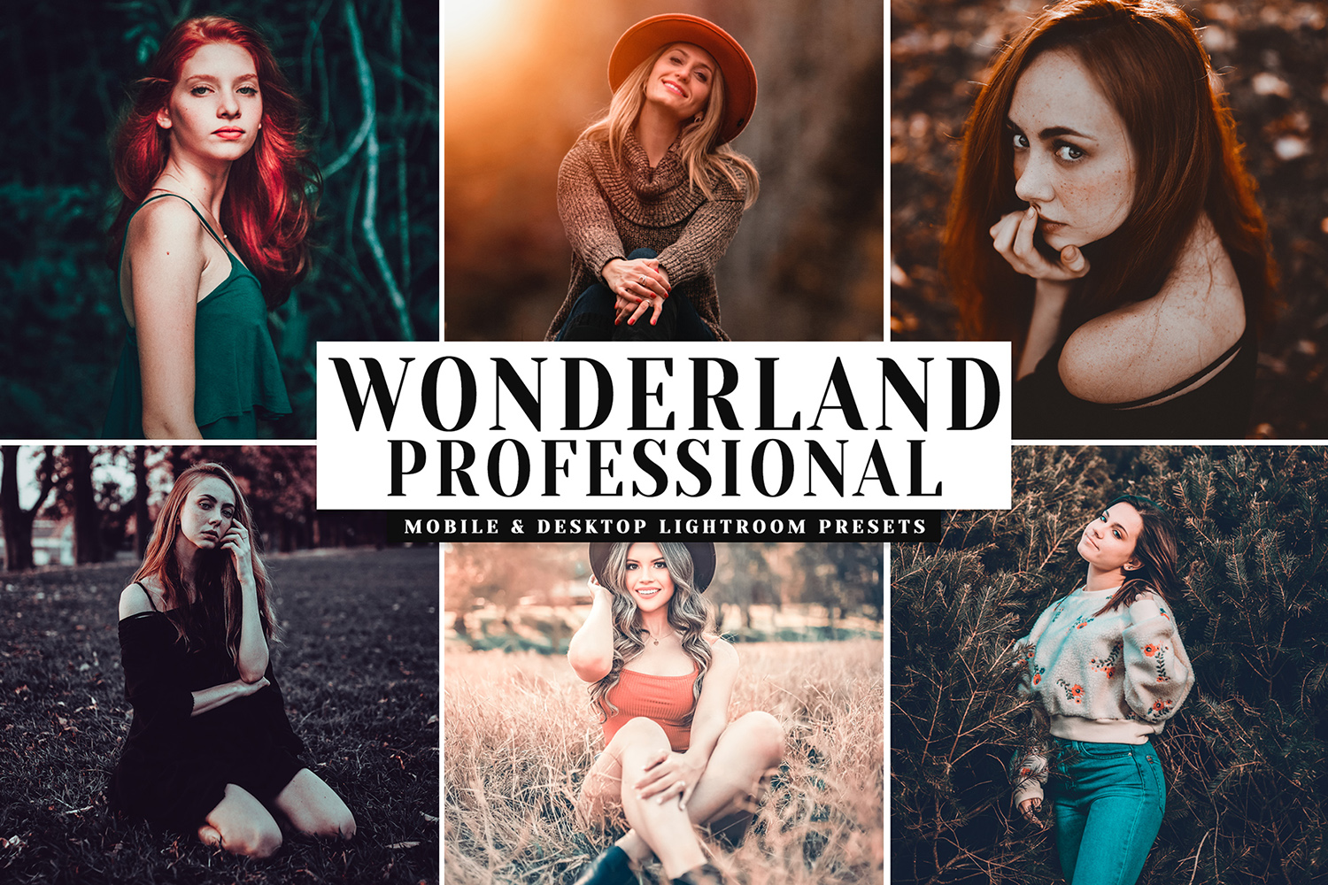 Download Free Wonderland Pro Lightroom Presets Graphic By Creative Tacos for Cricut Explore, Silhouette and other cutting machines.