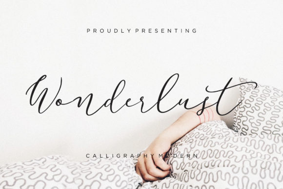 Print on Demand: Wonderlust Script & Handwritten Font By CreatypeStudio