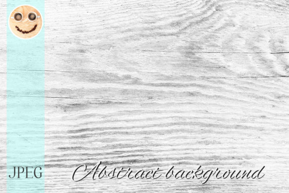 Print on Demand: Wood Weathered Texture Background Graphic Nature By TasiPas