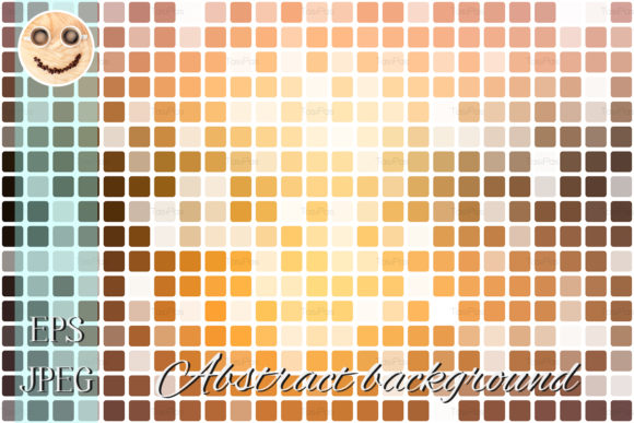 Print on Demand: Yellow Coral Pink Black Background Graphic Illustrations By TasiPas