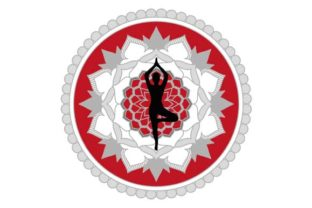 Download Free Yoga Mandala Logo Graphic By Graphicsfarm Creative Fabrica for Cricut Explore, Silhouette and other cutting machines.