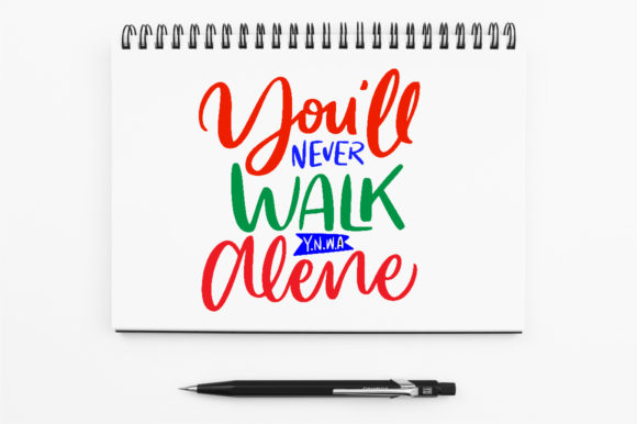 Download Free You Ll Never Walk Alone Graphic By Kreasari Creative Fabrica for Cricut Explore, Silhouette and other cutting machines.