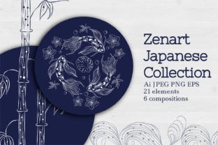 Zenart Japanese Collection Graphic By Tatyana_Zenartist