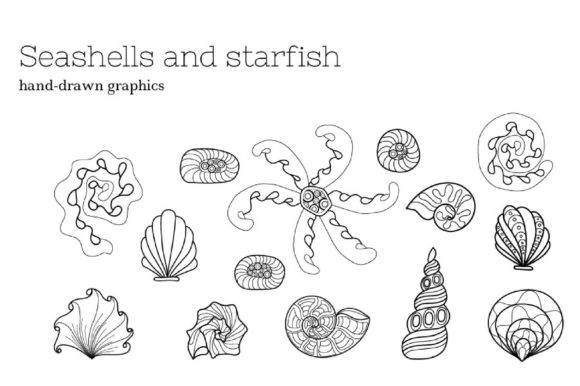 Zenart Vector Sea Life Collection Graphic By Tatyana_Zenartist Image 4