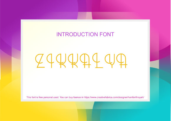 Download Free Hanif Font By Hanifarifinsyah Creative Fabrica for Cricut Explore, Silhouette and other cutting machines.