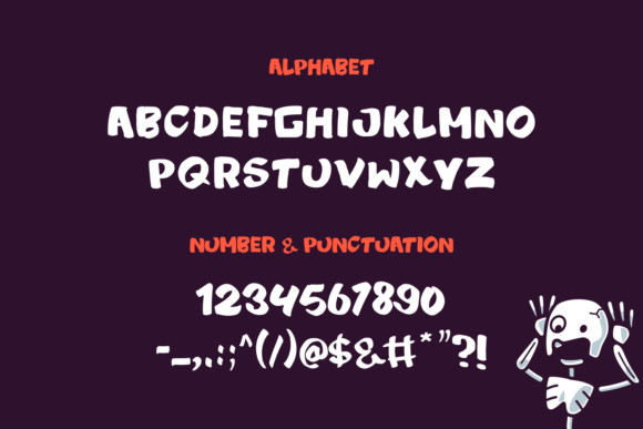 Print on Demand: Zombye Display Font By tkztype - Image 3
