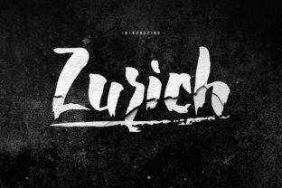 Print on Demand: Zurich Display Font By Maulana Creative