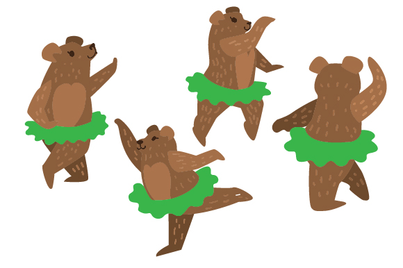 Download Free Bears In Tutus Set Svg Cut File By Creative Fabrica Crafts Creative Fabrica for Cricut Explore, Silhouette and other cutting machines.