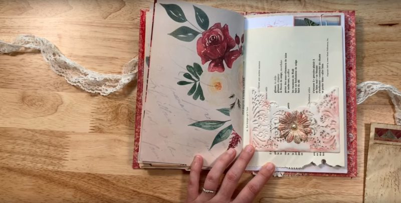 Download Free Inspiration Creamy And Floral Junk Journal Creative Fabrica for Cricut Explore, Silhouette and other cutting machines.