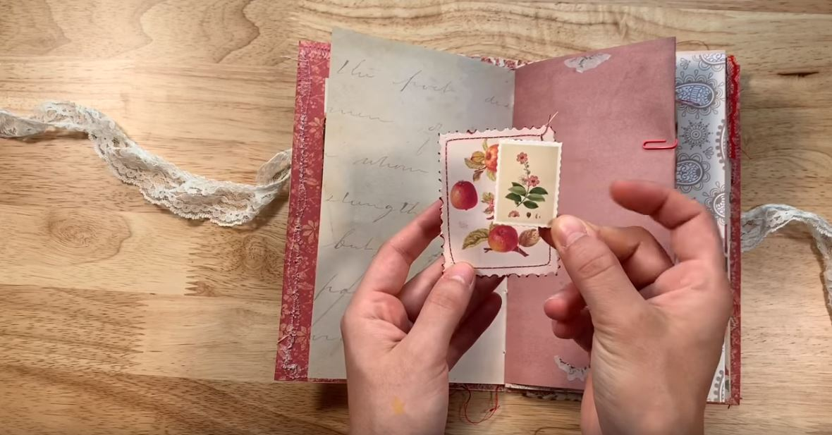 Inspiration: Creamy and Floral Junk Journal main article image