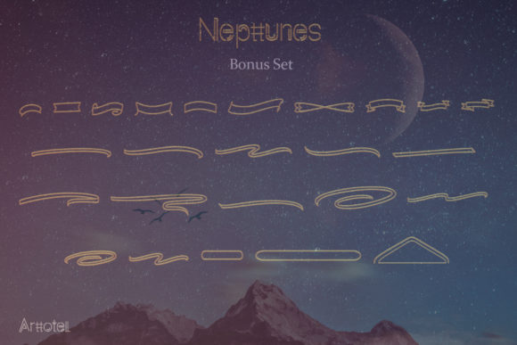 Print on Demand: Nepttunes Script & Handwritten Font By arttotell - Image 9