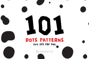 101 Dots Seamless Patterns Vector Graphic By nantia