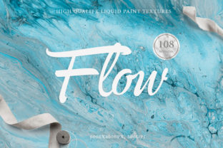 108 Flow Liquid Textures Graphic By NassyArt