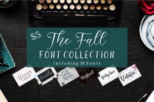The Fall Font Collection