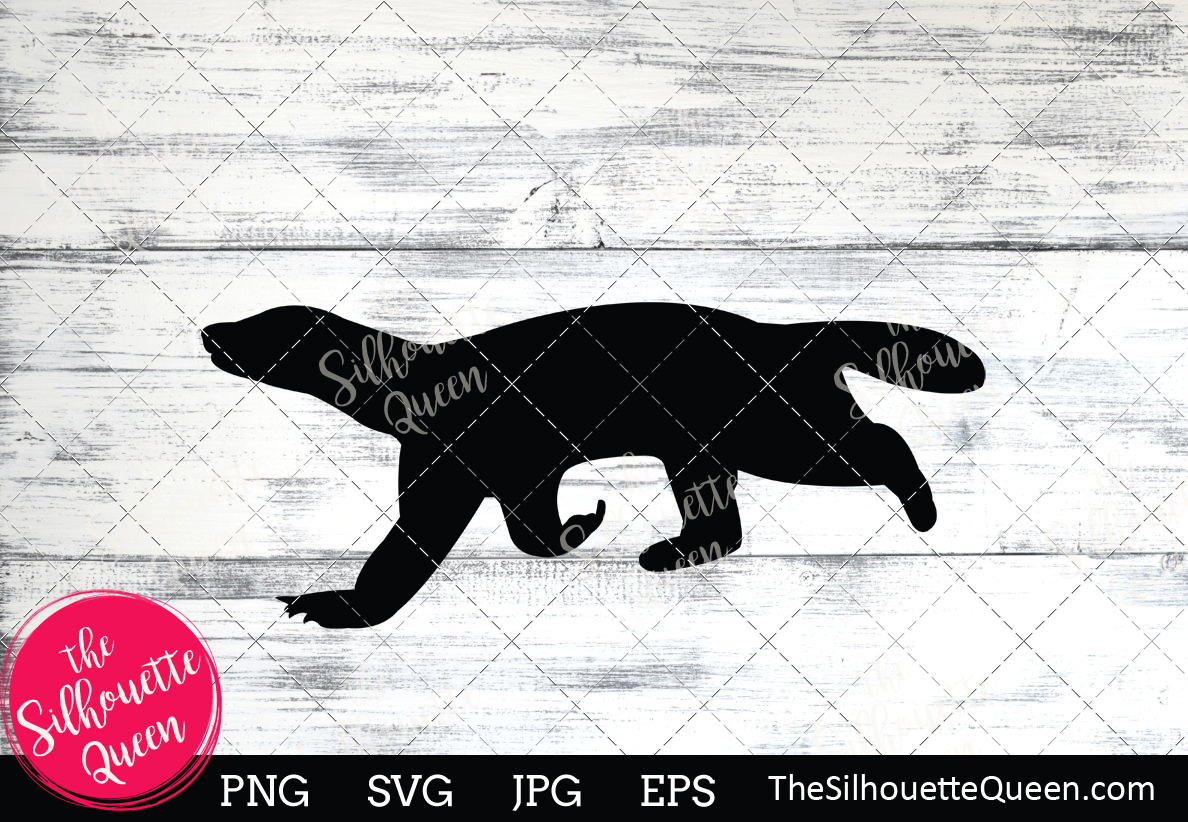 Download Free Badger Silhouette Grafico Por Thesilhouettequeenshop Creative for Cricut Explore, Silhouette and other cutting machines.