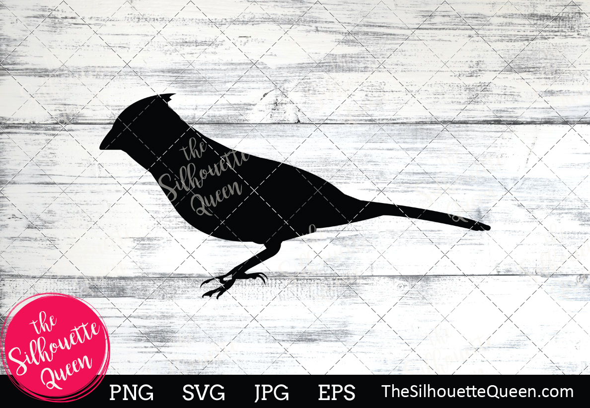 Download Free Cardinal Silhouette Graphic By Thesilhouettequeenshop Creative for Cricut Explore, Silhouette and other cutting machines.