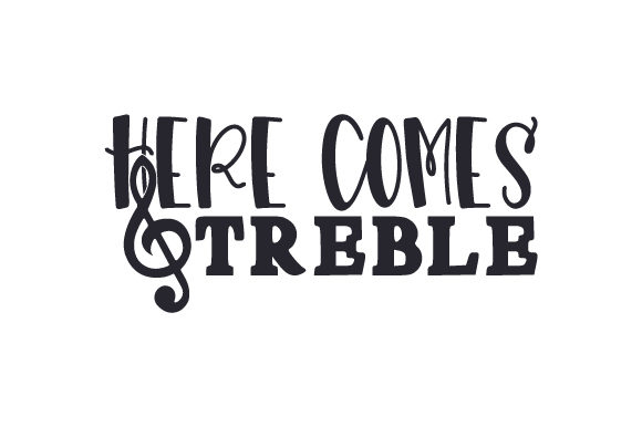 Here Comes Treble Craft Design By Creative Fabrica Crafts Image 2