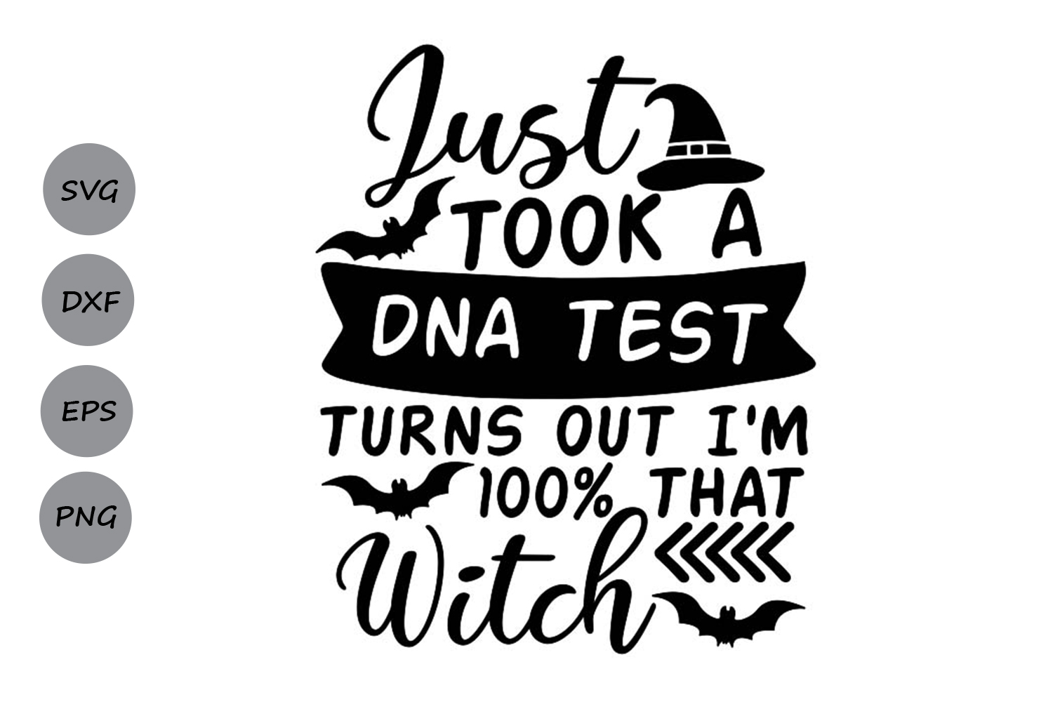 Download Free Just Took A Dna Test Graphic By Cosmosfineart Creative Fabrica SVG Cut Files