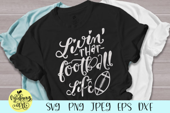 Livin That Football Life Graphic Objects By MidmagArt