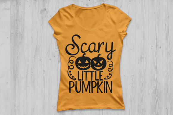 Scary Little Pumpkin Graphic By Cosmosfineart Creative Fabrica