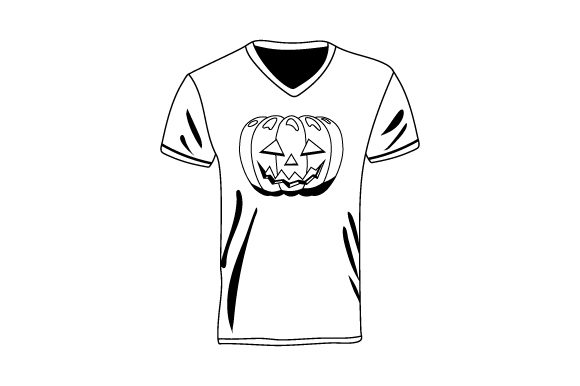 Download Free T Shirt With Jack O Lantern Mockup Svg Cut File By Creative for Cricut Explore, Silhouette and other cutting machines.