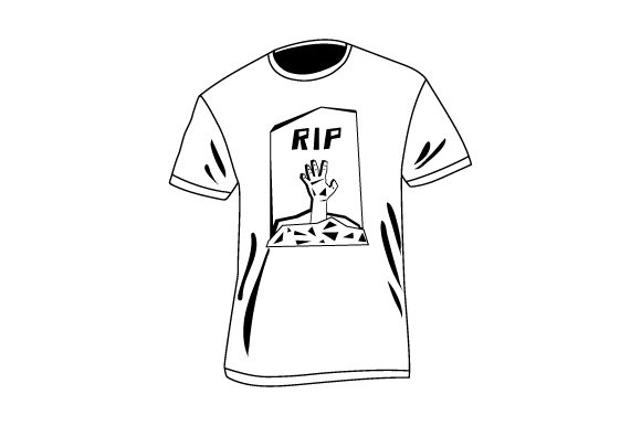 Download Free T Shirt With Zombie Arm Climbing Out Of Grave Mockup Svg Cut File for Cricut Explore, Silhouette and other cutting machines.