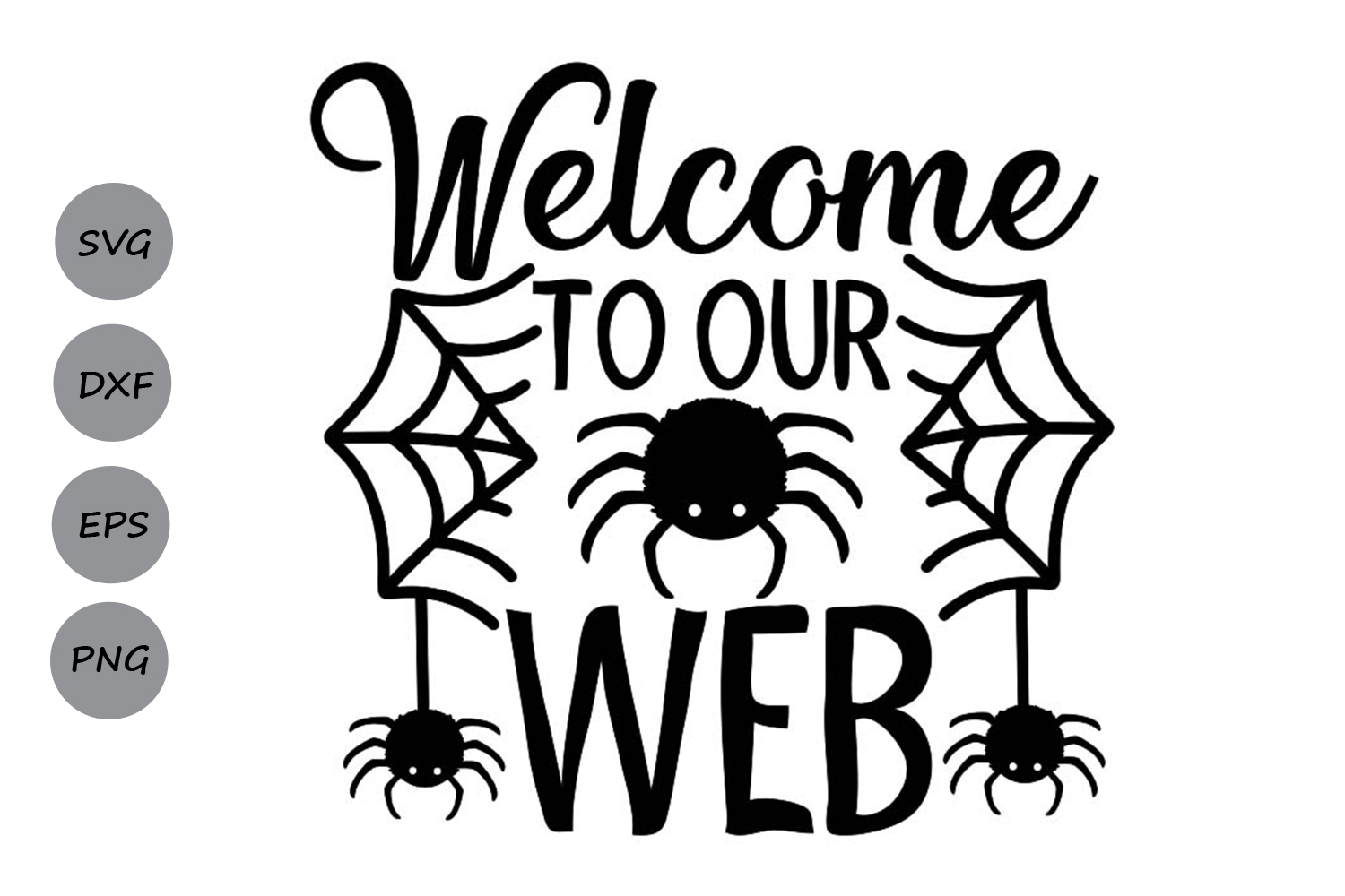 Download Free Welcome To Our Web Svg Graphic By Cosmosfineart Creative Fabrica for Cricut Explore, Silhouette and other cutting machines.