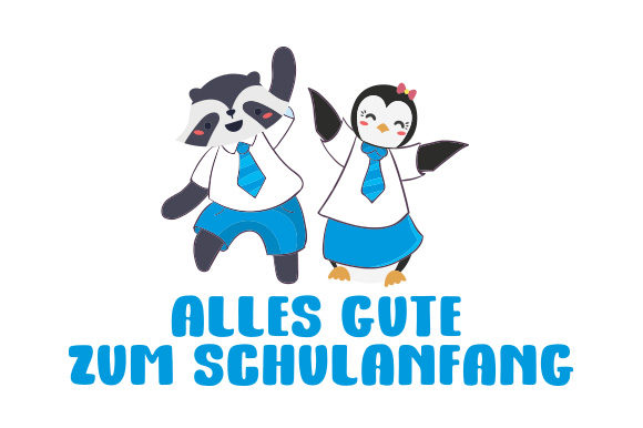 Download Free Alles Gute Zum Schulanfang Animals Svg Cut File By Creative for Cricut Explore, Silhouette and other cutting machines.
