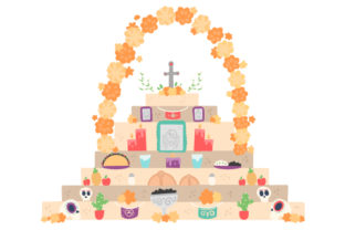 Altar of the Dead Craft Design By Creative Fabrica Crafts
