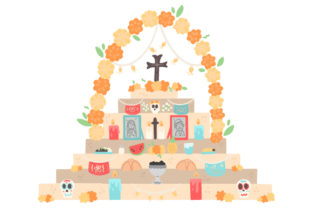 Altar De Muertos Craft Design By Creative Fabrica Crafts