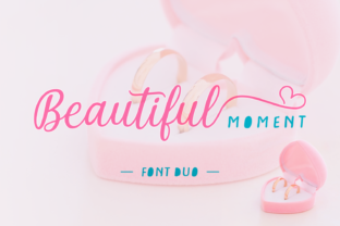 Beautiful Moment Font By Situjuh