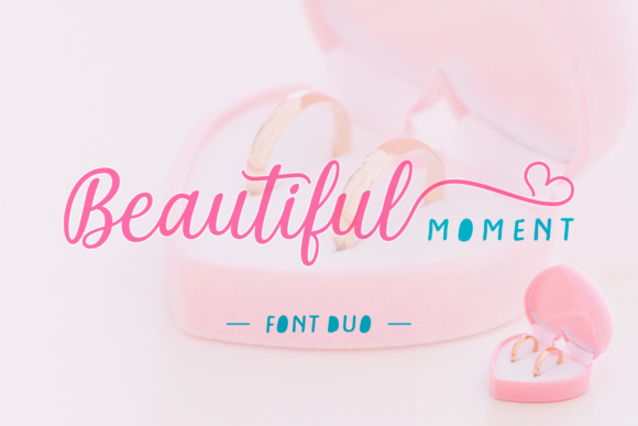 Print on Demand: Beautiful Moment Script & Handwritten Font By Situjuh