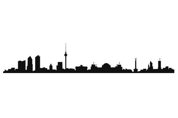 Berlin Skyline Germany Craft Cut File By Creative Fabrica Crafts