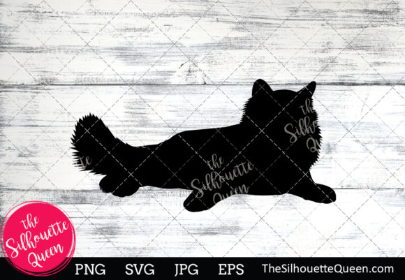 Birman Cat Silhouette Graphic By Thesilhouettequeenshop