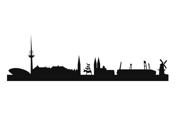 Download Free Bremen Skyline Svg Cut File By Creative Fabrica Crafts for Cricut Explore, Silhouette and other cutting machines.