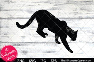 Download Free Cougar Silhouette Graphic By Thesilhouettequeenshop Creative for Cricut Explore, Silhouette and other cutting machines.