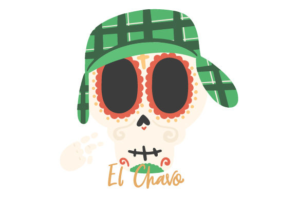 Download Free El Chavo Del 8 Skull Svg Cut File By Creative Fabrica Crafts for Cricut Explore, Silhouette and other cutting machines.