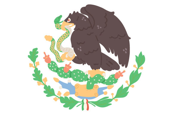 Download Free Escudo Nacional Mexicano Svg Cut File By Creative Fabrica Crafts for Cricut Explore, Silhouette and other cutting machines.