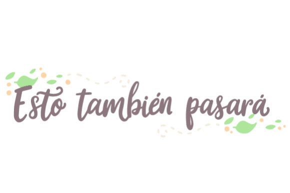 Download Free Esto Tambien Pasara Svg Cut File By Creative Fabrica Crafts for Cricut Explore, Silhouette and other cutting machines.