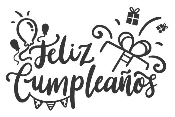 Download Free Feliz Cumpleanos Svg Cut File By Creative Fabrica Crafts for Cricut Explore, Silhouette and other cutting machines.